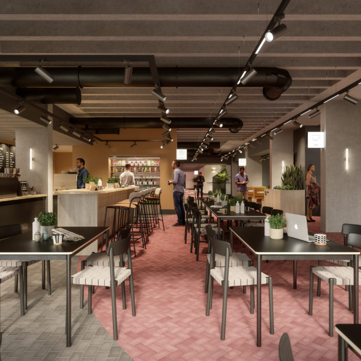 Cafe & Meeting Space